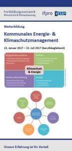 Kommunales Energie- und klimaschutzmanagement, Klimaschutz, Energiemanagement, fortbildung, ifpro, fesa e.v.
