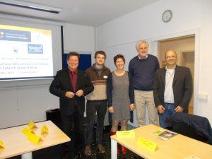 Fortbildung zu Klimawandel,Klimaschutz und KLimaanpassung mit Klimaforschnern und Experten aus der Region.