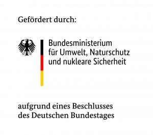 Logo vom Bundesministerium für Umwelt, Naturschutz und nukleare Sicherheit (BMU)